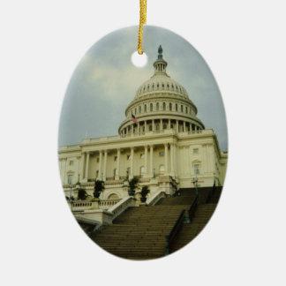 Washington DC Capitol Ornament