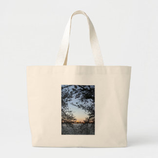 Washington DC Cherry Blossom Large Tote Bag