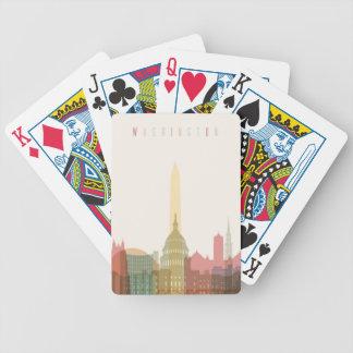 Washington, DC | City Skyline Bicycle Playing Cards