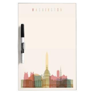 Washington, DC | City Skyline Dry-Erase Whiteboard