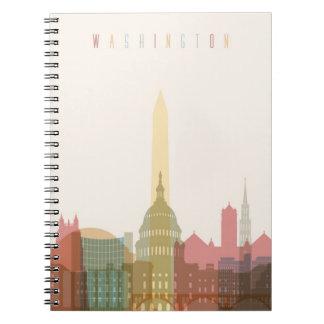 Washington, DC | City Skyline Note Books