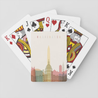 Washington, DC | City Skyline Playing Cards