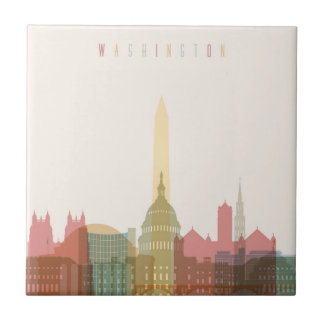 Washington, DC | City Skyline Tile