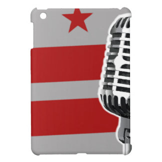 Washington DC Flag And Microphone iPad Mini Covers