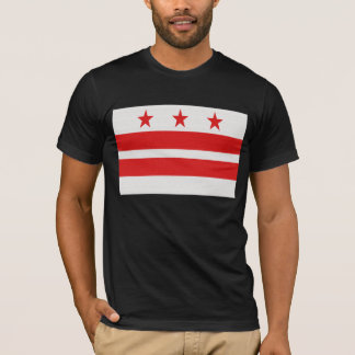 Washington DC Flag - District of Columbia T-Shirt