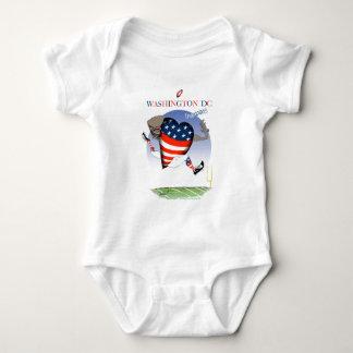 Washington DC football champs, tony fernandes Baby Bodysuit