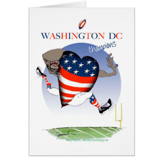 Washington DC football champs, tony fernandes Card