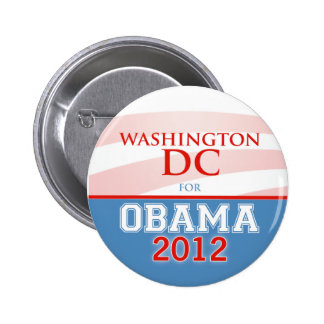 WASHINGTON DC for Obama 2012 2 Inch Round Button
