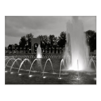 Washington DC Fountain Postcard