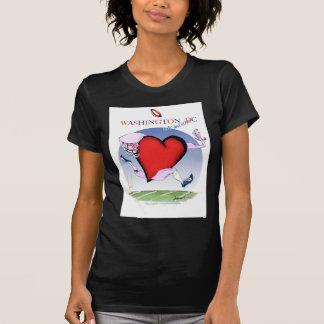 Washington DC head heart, tony fernandes T-Shirt