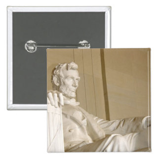 Washington, DC, Lincoln Memorial 2 Inch Square Button