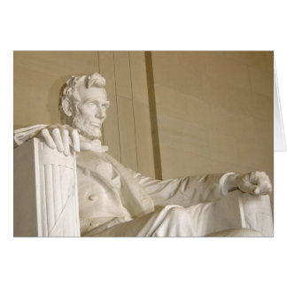 Washington, DC, Lincoln Memorial Card