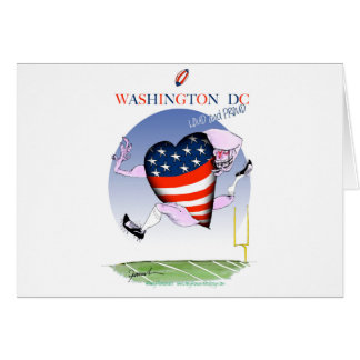 Washington DC loud and proud, tony fernandes Card