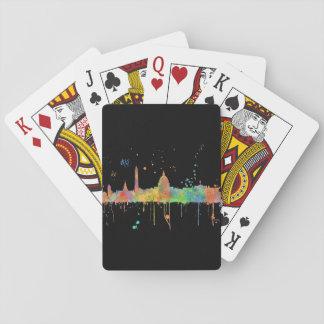 WASHINGTON DC MCLR - Playing cards