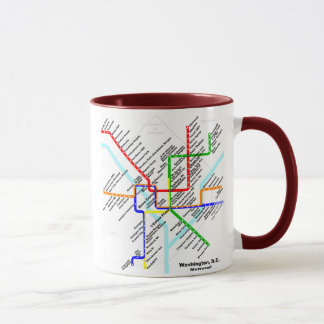 Washington dc metro  Mug