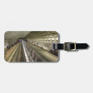 Washington DC Metro Train Station Luggage Tag