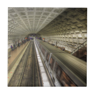 Washington DC Metro Train Station Tile
