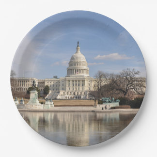 Washington DC Paper Plate