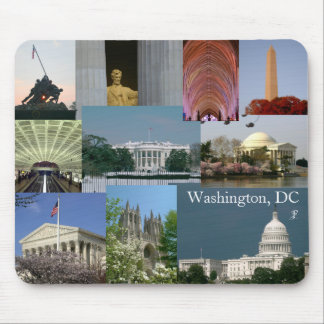 Washington, DC Photo Souvenir Mousepad