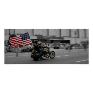 Washington DC Rolling Thunder Biker Rally Poster