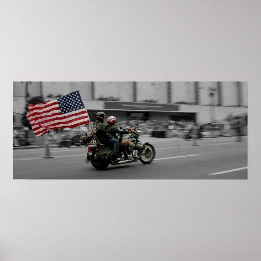 Washington DC Rolling Thunder Biker Rally Poster