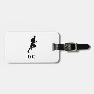 Washington DC Running Luggage Tag