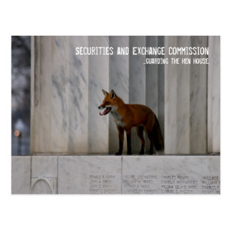 Washington, DC: SEC Humor Postcard
