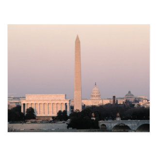 Washington, DC Skyline Postcard