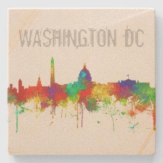 Washington DC Skyline SG Stone Coaster