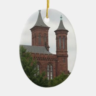 Washington DC Smithsonian Castle Ornament