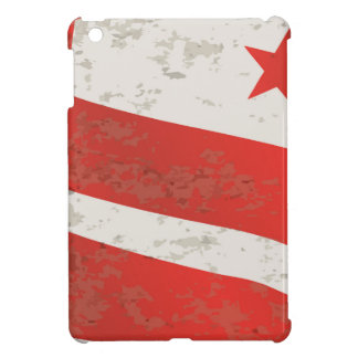 Washington DC State Flag Cover For The iPad Mini