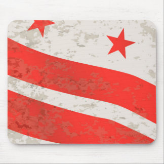 Washington DC State Flag Mouse Pad