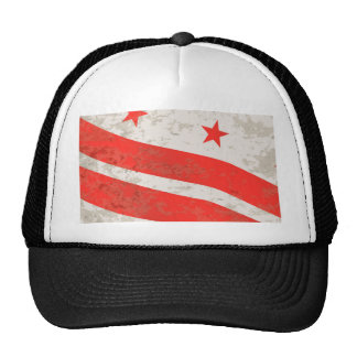 Washington DC State Flag Trucker Hat