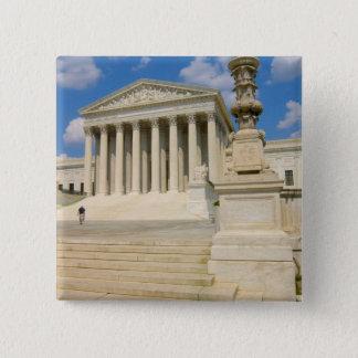 Washington, DC, Supreme Court Building 2 Inch Square Button