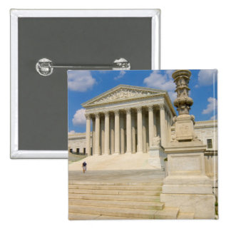 Washington, DC, Supreme Court Building 2 Inch Square Button