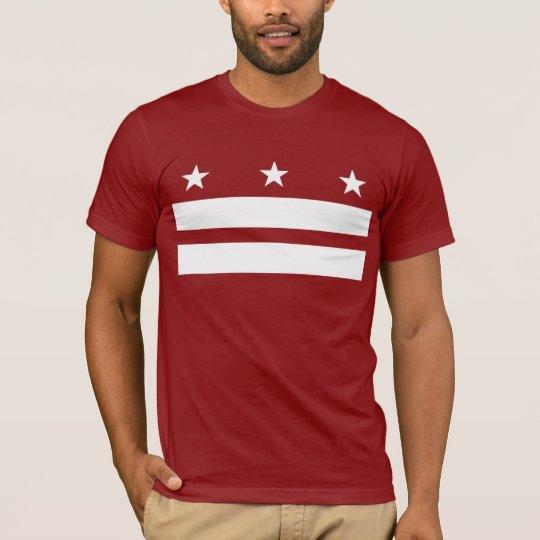 Washington DC t-shirt red