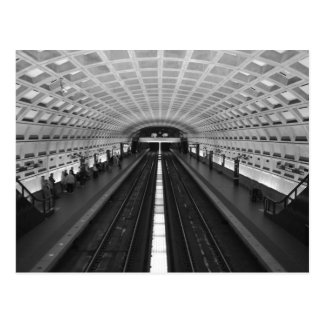 Washington Dc Train Station Postcard