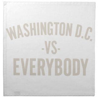 Washington DC Vs Everybody Napkin