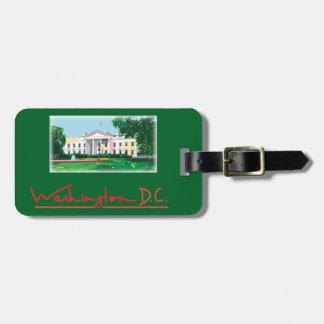 Washington DC - White House Luggage Tag