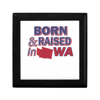 Washington design gift box