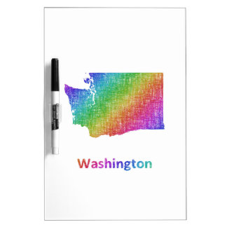 Washington Dry Erase Board