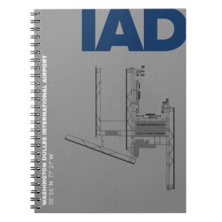 Washington Dulles Airport (IAD) Diagram Notebook