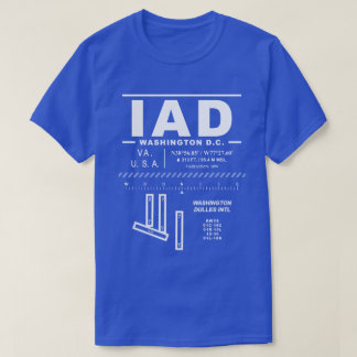 Washington Dulles International Airport IAD T-Shirt