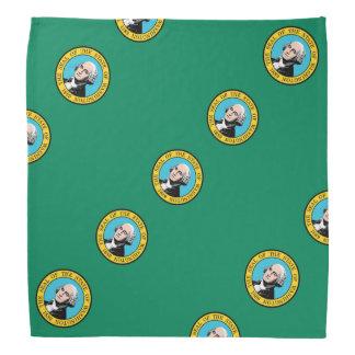 Washington flag bandana