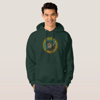 Washington Flag Bigfoot Squatch Hoodie
