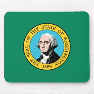 Washington Flag Mouse Pad