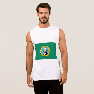 Washington Flag Sleeveless Shirt