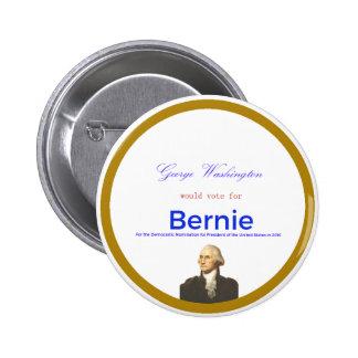 Washington for Sanders 2 Inch Round Button