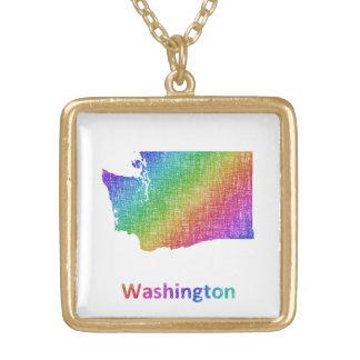 Washington Gold Plated Necklace