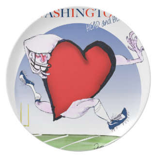 Washington head heart, tony fernandes plate